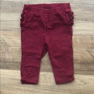 Baby girl ruffle booty leggings